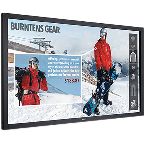 """NEC V-Series 48"""" Touch-Integrated Display and Raspberry Pi Bundle"""