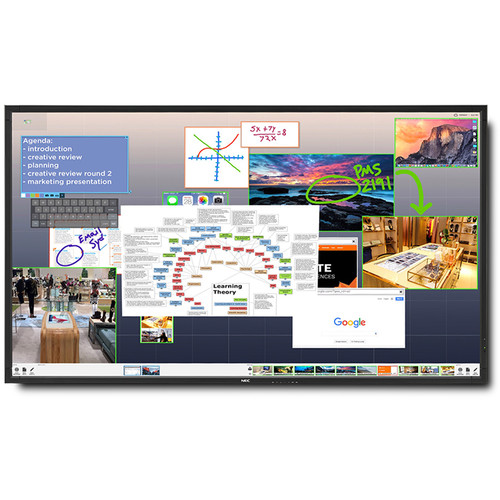 "NEC ThinkHub Standard with V552 55"" Monitor"