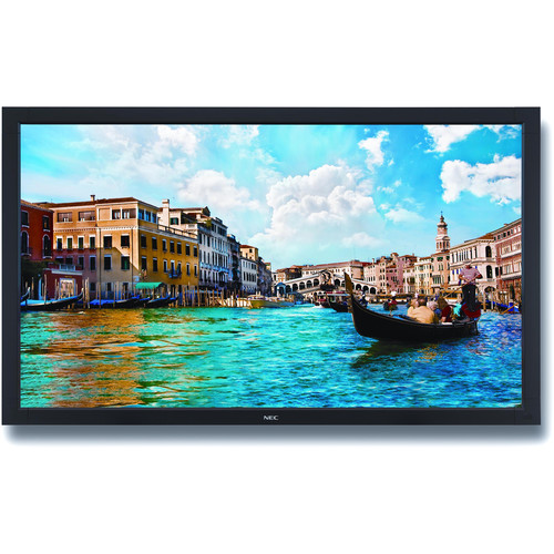 "NEC V Series 65"" LED Backlit Commercial-Grade Display with Integrated Tuner"