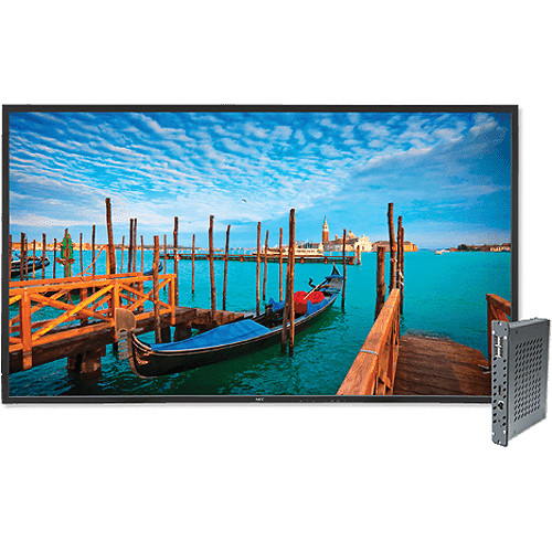 "NEC V652-DRD 65"" Full HD Widescreen Edge-Lit LED SPVA LCD Display and Digital Media Player Bundle"