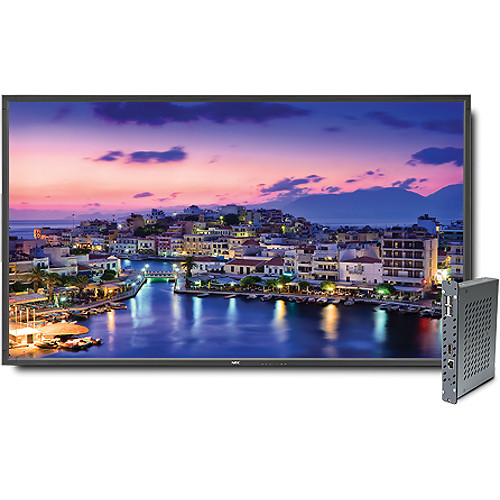 "NEC V801-DRD 80"" Full HD Widescreen Edge-Lit LED LCD Display and Digital Media Player Bundle"