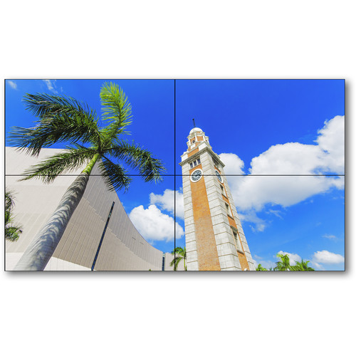 "NEC X555UNS-TMX4P 55"" 2x2 LCD TileMatrix Digital Video Wall Solution"