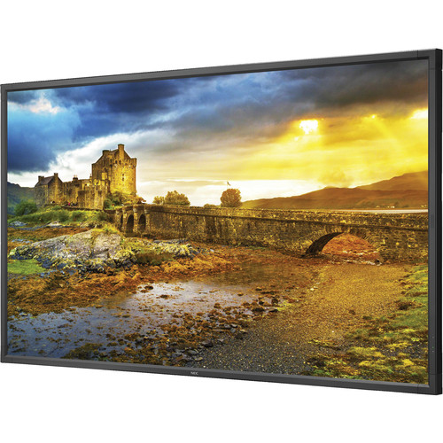"""NEC 65"""" UHD Display with 4K Content"""