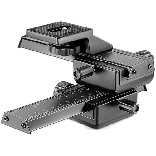 Neewer Pro 4-Way Macro Focusing Rail Slider for Close-Up Shooting