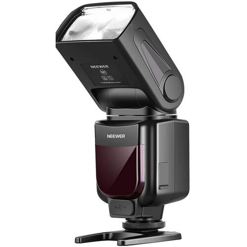 Neewer NW670 TTL Flash for Canon Cameras with FC-16 Trigger & Accessories Kit