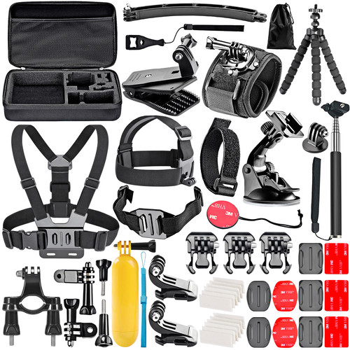 Neewer 50-in-1 Accessory Kit for GoPro