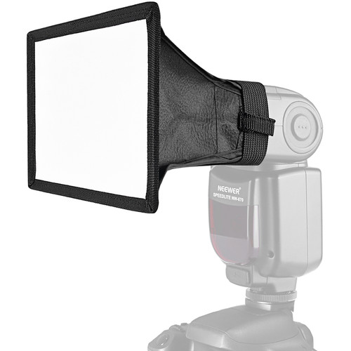 "Neewer Softbox for Portable Flash (6 x 5"")"