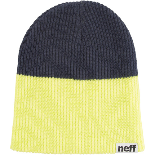 Neff Duo Beanie (Lime/Navy)