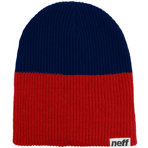 Neff Duo Beanie (Red/Navy)