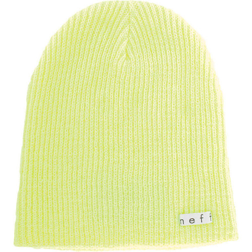 Neff Daily Beanie (Neon Yellow)