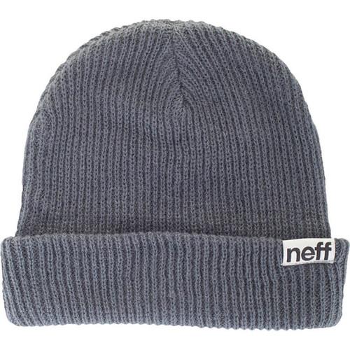 Neff Fold Beanie (Grey/Blue)