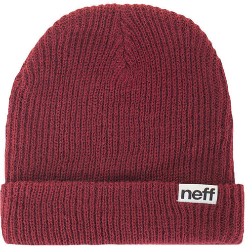 Neff Fold Beanie (Maroon)