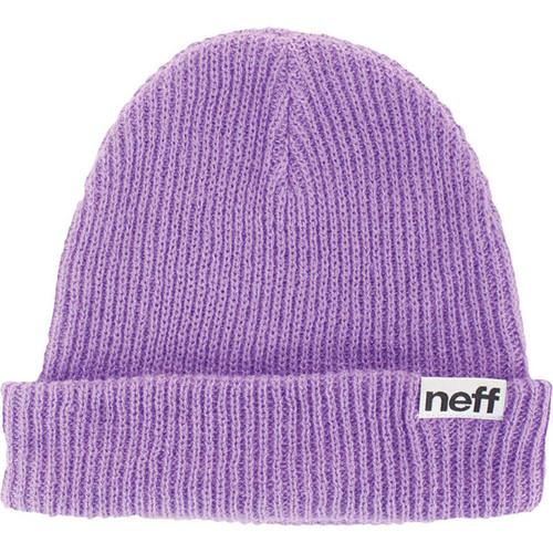 Neff Fold Beanie (Neon Purple)