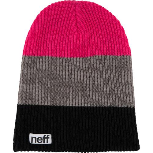Neff Trio Beanie (Black/Gray/Pink)
