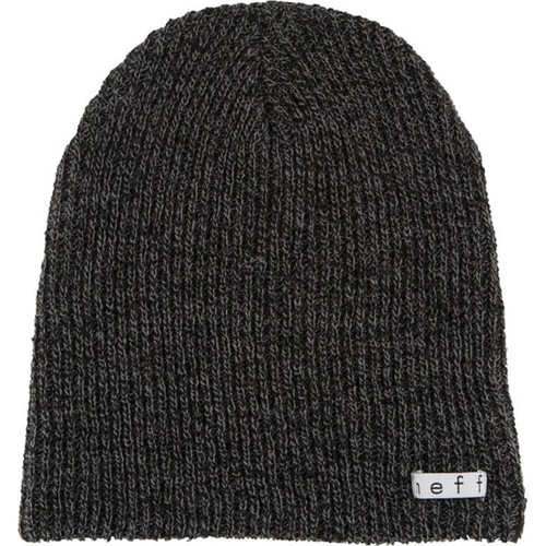 Neff Daily Heather Beanie (Black/Gray)