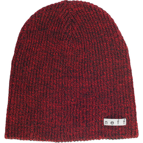 Neff Daily Heather Beanie (Black/Red)