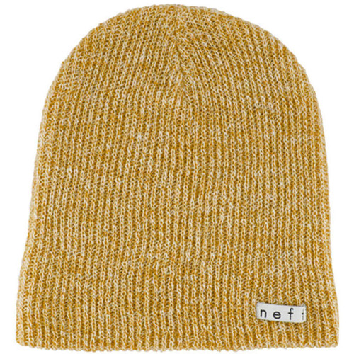 Neff Daily Heather Beanie (Mustard / White)