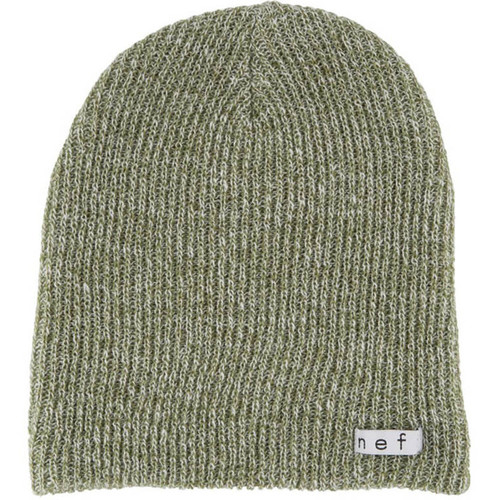 Neff Daily Heather Beanie (Olive/White)
