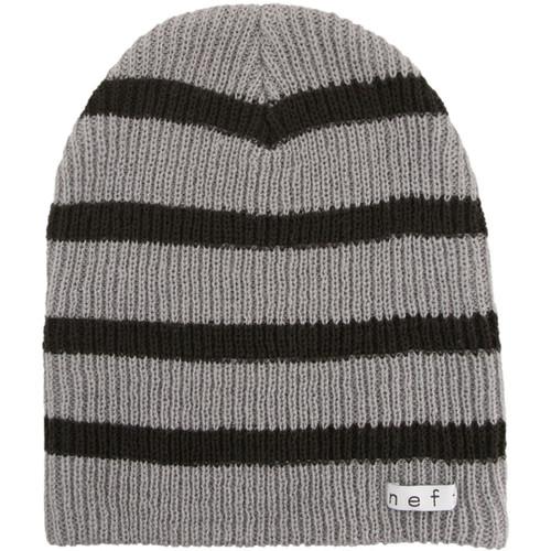Neff Daily Stripe Beanie (Grey/Black)