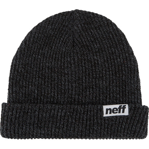 Neff Fold Heather Beanie (Black/Grey)