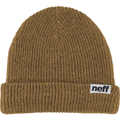 Neff Fold Heather Beanie (Brown/White)