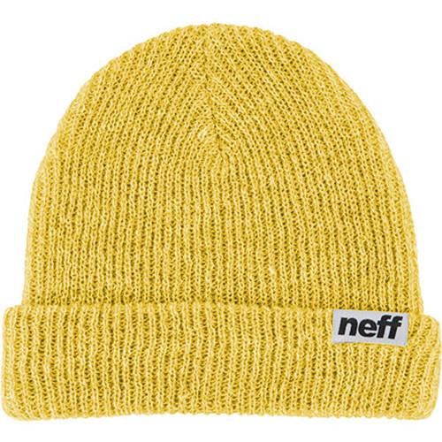 Neff Fold Heather Beanie (Mustard / White)