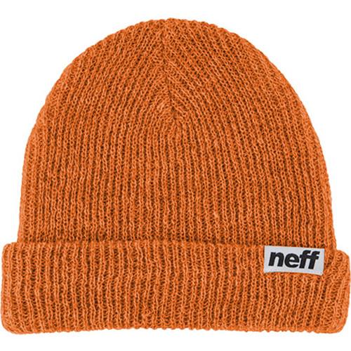Neff Fold Heather Beanie (Rust/Khaki)