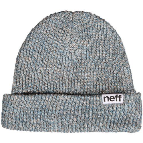 Neff Fold Heather Beanie (Slate Blue/Khaki)
