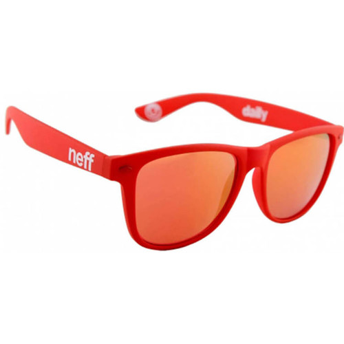 Neff Daily Shades (Red Rubber)