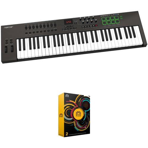 Nektar Technology Impact 61-Key Keyboard Controller and Bitwig DAW Kit