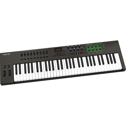 Nektar Technology Impact LX61+ 61-Key USB MIDI Controller Keyboard