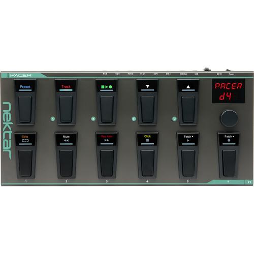 Nektar Technology PACER MIDI Foot Controller with DAW Integration