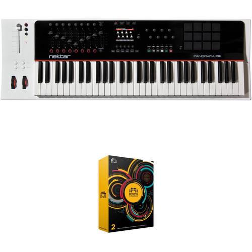 Nektar Technology Panorama 61-Key Keyboard Controller and Bitwig DAW Kit