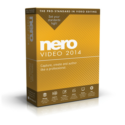 Nero Video 2014 for Windows (Electronic Download)