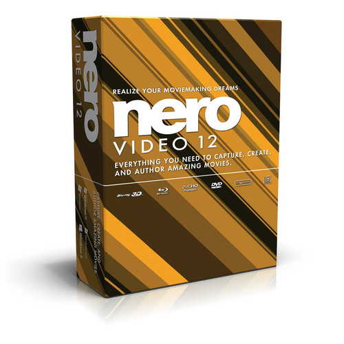 Nero Video 12 Editing Software for Windows (Download)