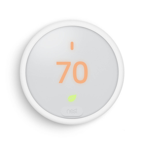 Nest E Smart Learning Thermostat with Built-in Wi-Fi (White)