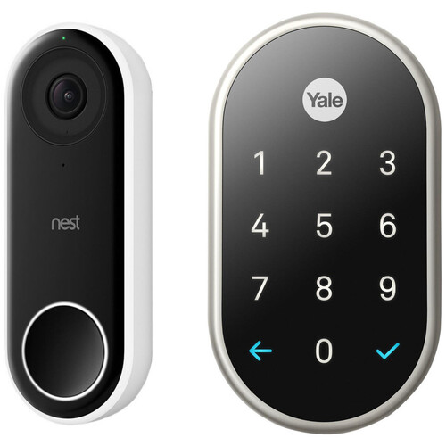 Nest Hello Video Doorbell with Nest x Yale Lock Kit