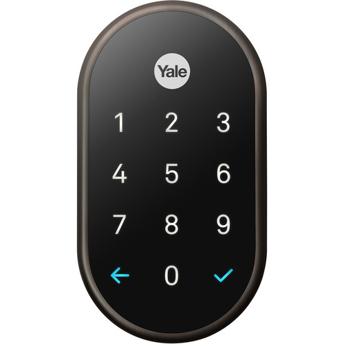 Google Nest x Yale Lock (Oil-Rubbed Bronze) with Nest Connect