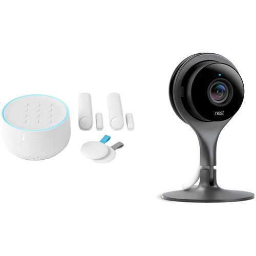 Google Nest Secure Alarm System Starter Pack & Indoor Security Camera Kit