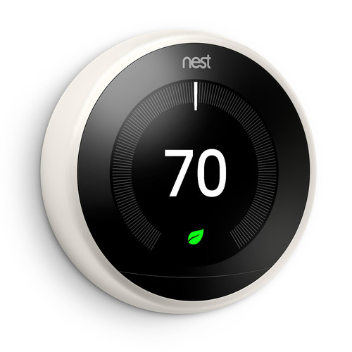 Google Nest Learning Thermostat (3rd Generation, White)