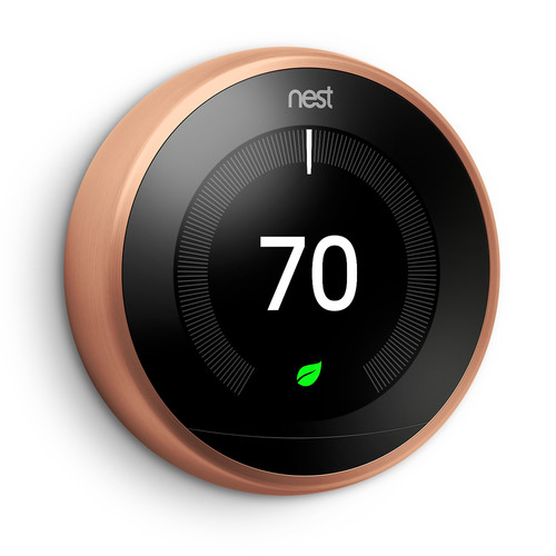 Nest Nest Learning Thermostat (3rd Generation, Copper)