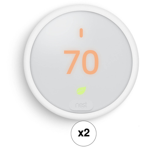 Nest Learning Thermostat E (2-Pack)