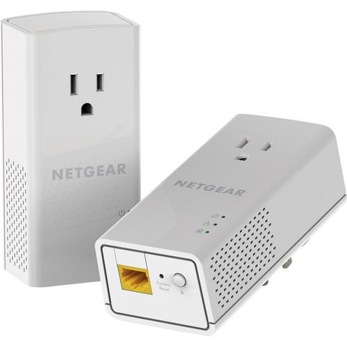 Netgear PLP1000 Powerline 1000 with Filtered Power Socket
