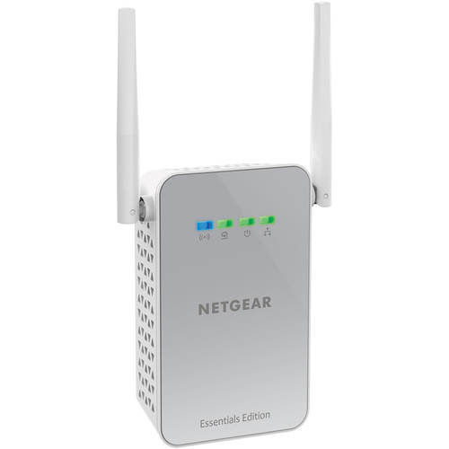 Netgear PLW1010 PowerLINE 1000 Wi-Fi Network Adapter and Access Point (Essentials Edition)