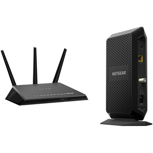 Netgear R7000P Nighthawk AC2300 Dual-Band Gigabit Router Bundle