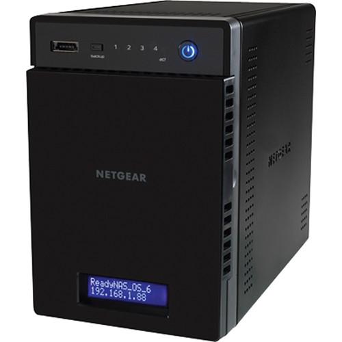 Netgear ReadyNAS 314 4-Bay Diskless NAS with iSCSI