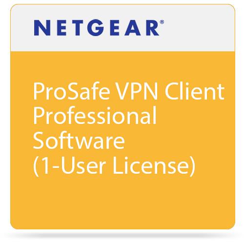 Netgear ProSafe VPN Client Professional Software (1-User License)
