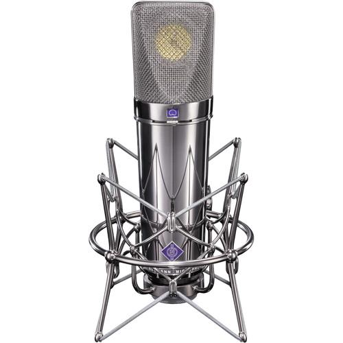 Neumann U 87 Condenser Microphone (Rhodium Edition)