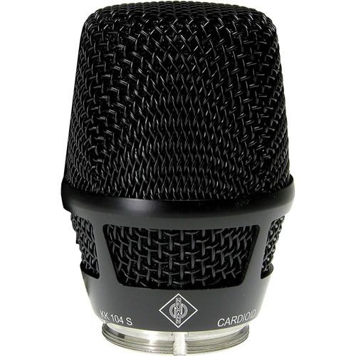 Neumann KK 104S Capsule Head for Sennheiser SKM 5200 / SKM 5000 N Handheld Transmitters (Black)