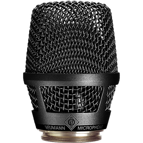 Neumann KK 105S Capsule Head for Sennheiser SKM 5200 / SKM 5000 N Handheld Transmitters (Black)